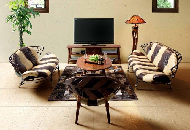 Мебель для африканского интерьера, африканский стиль мебели