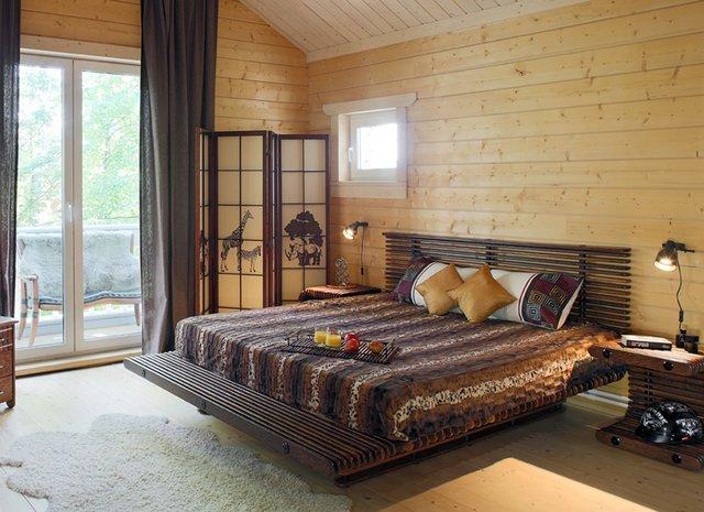 Спальня в африканском стиле, фото, интерьер, цены на нашу мебель.