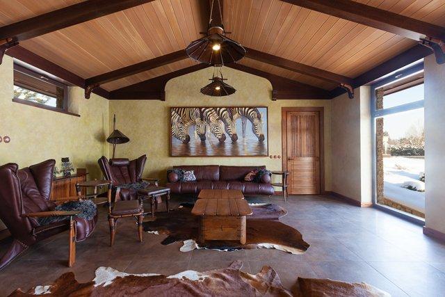 Африканская мебель, спальня в африкансокм стиле, мебель для африканского интерьера