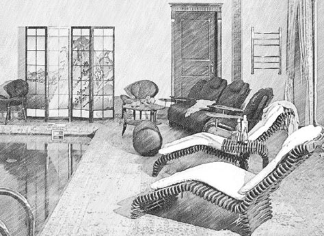Эксклюзивная мебель для бани, сауны, бассейна