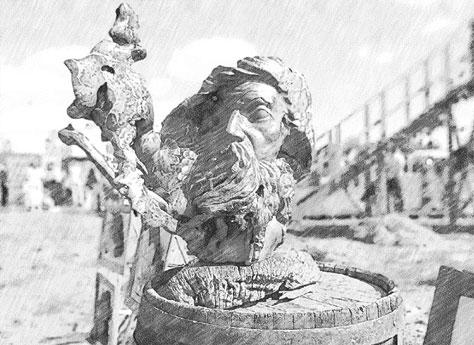 Деревянная скульптура и панно