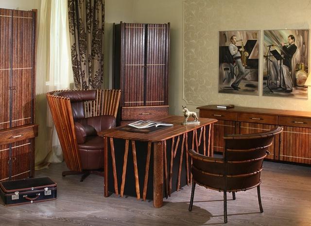 кабинет Менди , мебель из пальм, кабинет из автстралии