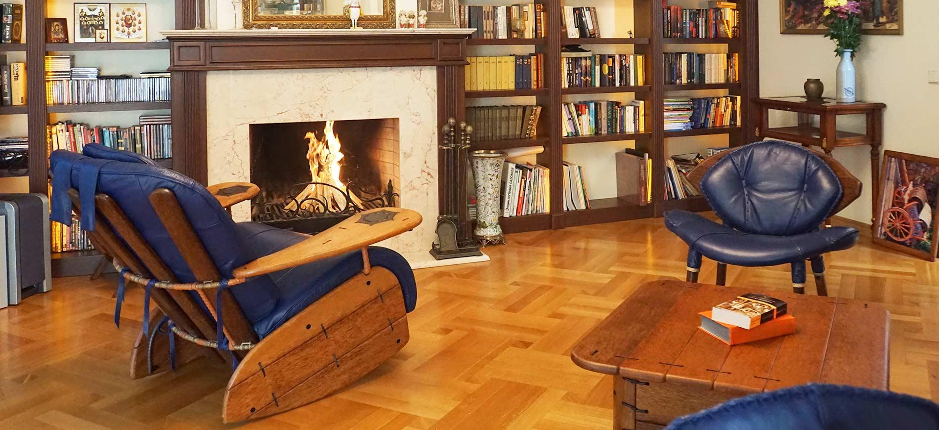 Кожаные кресла. Необычная дизайнерская мебель