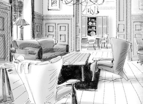 Эксклюзивная дизайнерская мебель для гостиной